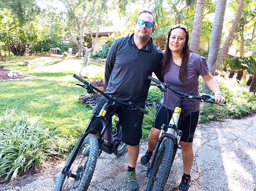 חדר בריחה בטבע: משחק מתגלגל באופניים - מן הכפר אל הקיבוץ