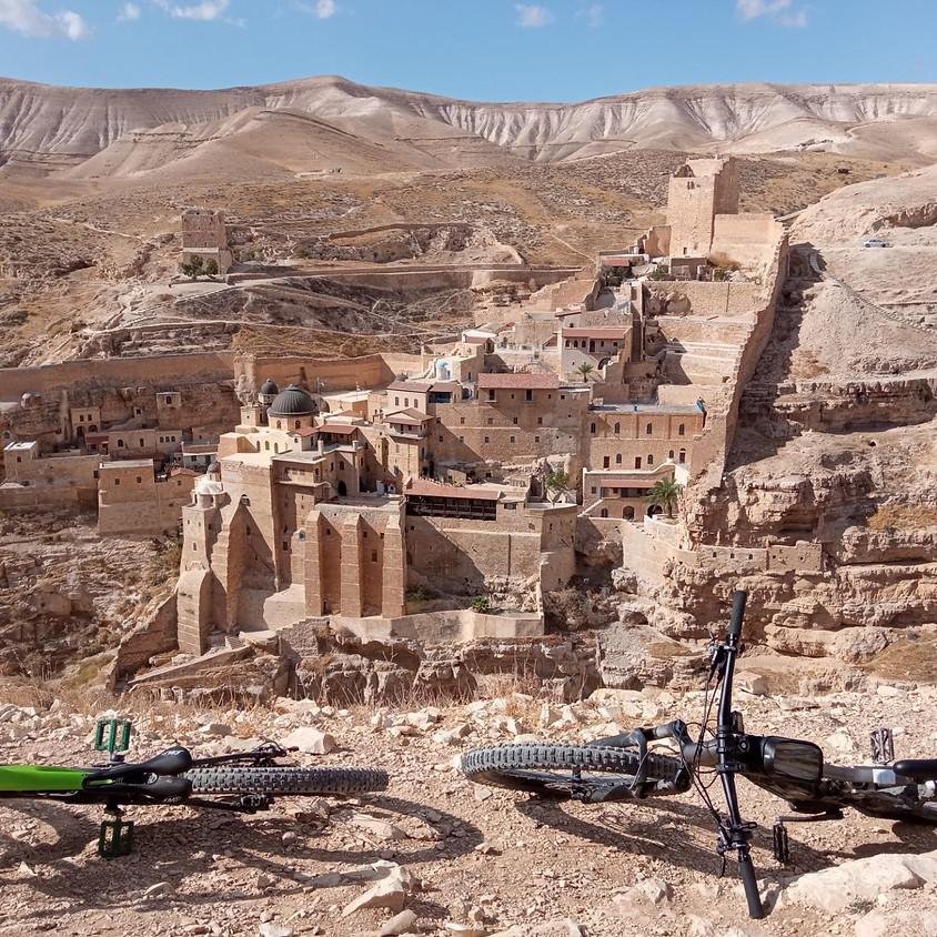 אל מנזר המרסבא ונחל אוג וחווארי אלמוג בחשמליים