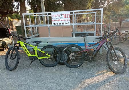 השכרת אופני שטח חשמליים