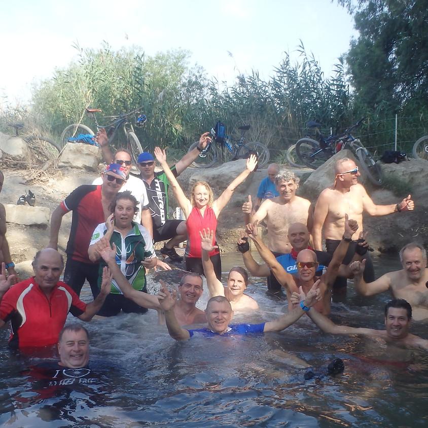 טבילות קרירות בעמק המעיינות באופניים חשמליים!! בוטל עקב עומס חום קיצוני!!