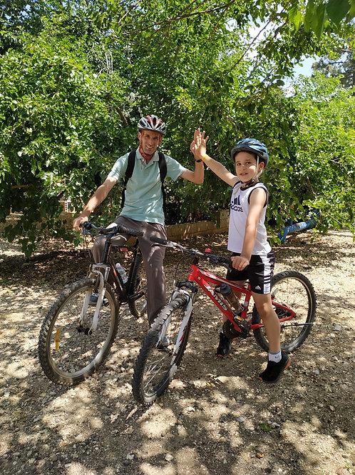 טיולים והשכרת אופניים בחבל מודיעין ודרום השרון