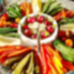 The perfect crudités for a hot evening!