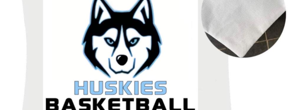 Huskies 16x16 Pillow Case