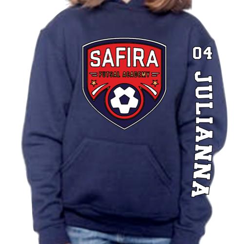 Safira Youth Unisex Heavy Blend™ 8 oz., 50/50 Hood