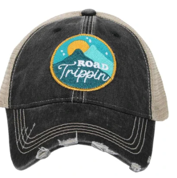 Road trippin trucker hat