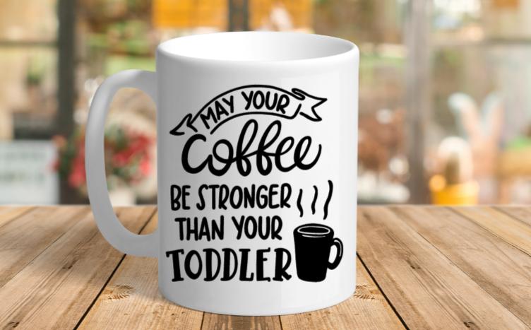 White Ceramic Toddler Mug