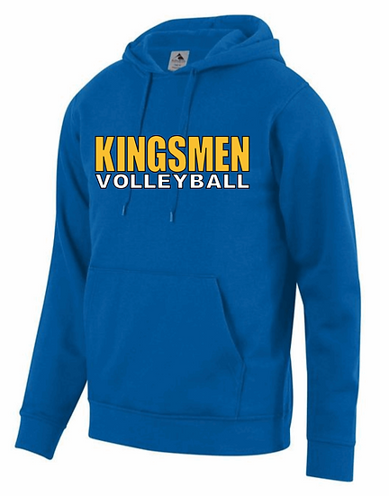 Volleyball Augusta 60/40 Hoodie -Youth