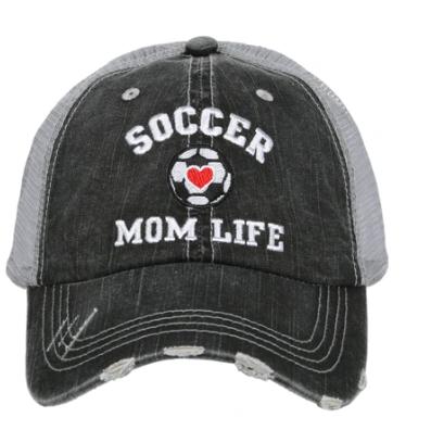 Soccer mom trucker hat
