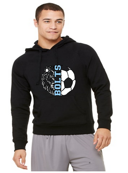 Youth Unisex 8 oz. NuBlend® Fleece Pullover Hood