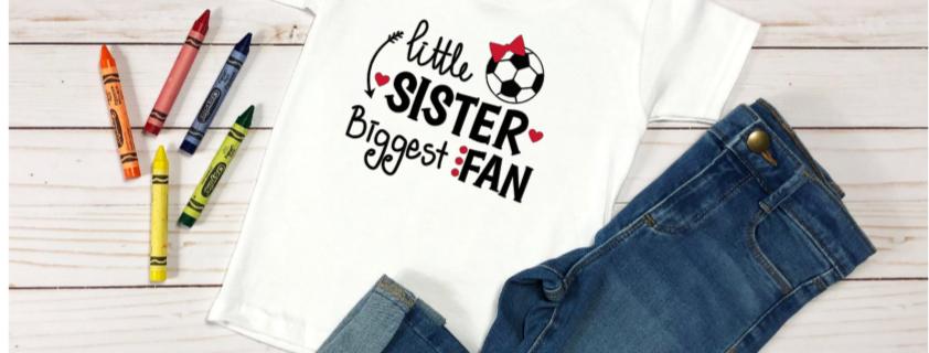 Little sister biggest fan