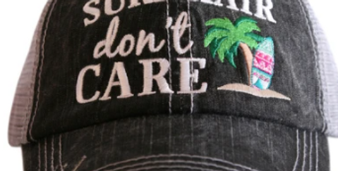Surf hair trucker hat