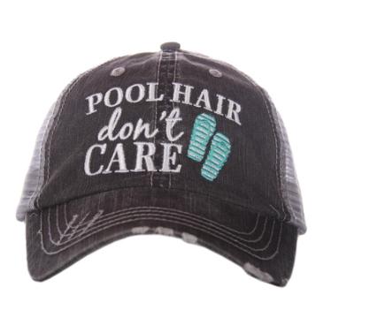 Pool Hair trucker hat