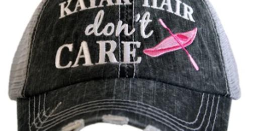 Kayak hair trucker hat
