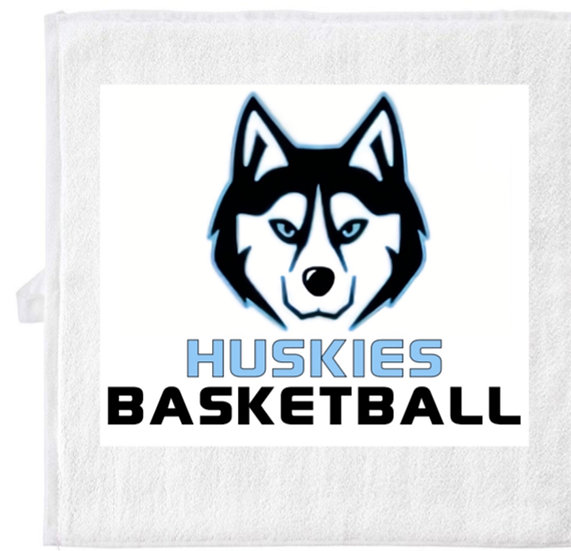 Huskies Sweat Hand Towel