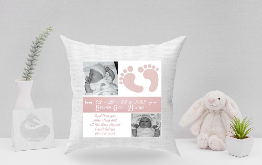 Picture baby pillow