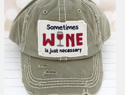Sometimes Wine Hat