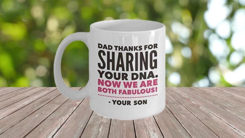 DAD DNA MUG
