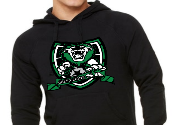 Green Lions Youth Unisex Heavy Blend™ 8 oz., 50/50 Hood