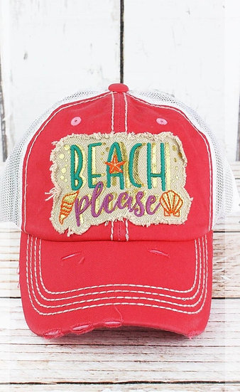 Beach please