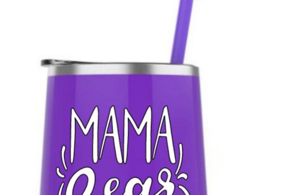 Mama Bear steel tumbler