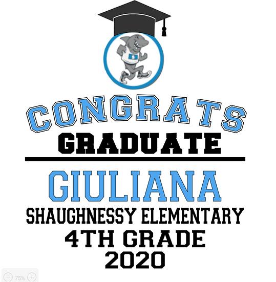 Shaughnessy Elementary Graduation Garden Flag