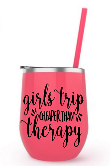 Girls Trip steel tumbler