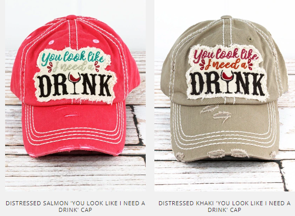 Need a drink hat