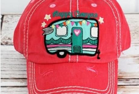 Happy Camper 2 Hat