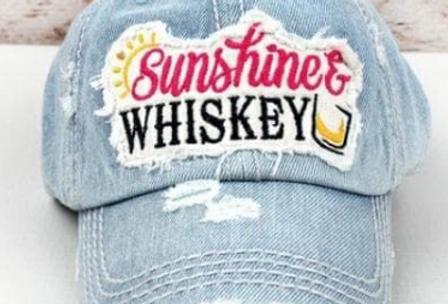 Sunshine & Whiskey Hat