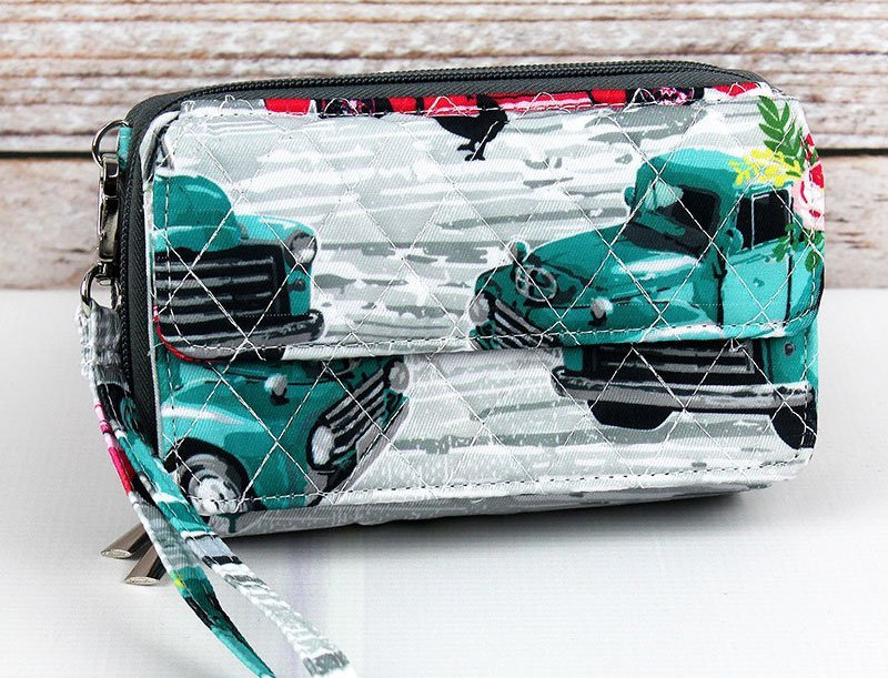 The Farm Quilted Clutch