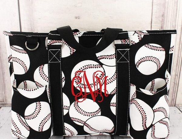 Medium Baseball Tote