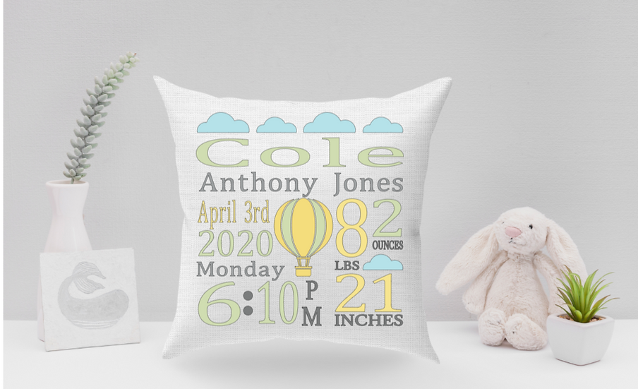 copy of Picture baby pillow