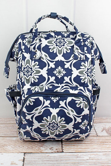 Zen Garden Diaper Backpack