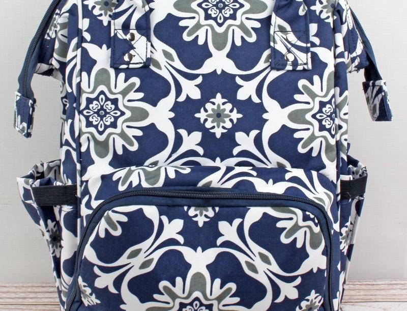 Zen Garden Diaper Backpack