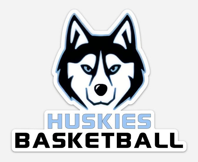 Huskies Car Decal