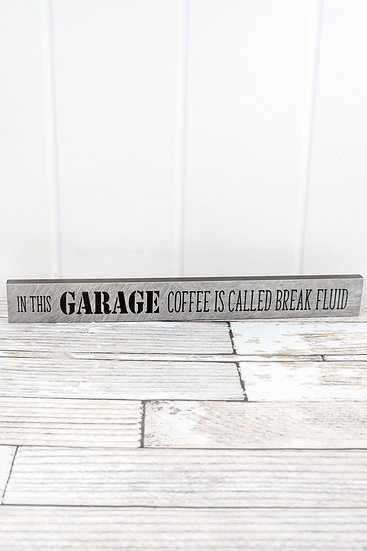 Garage Coffee Sign