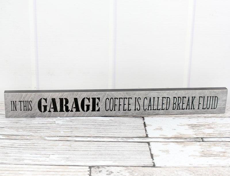 Garage Coffee Sign
