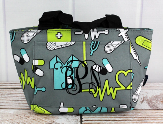 Nurse Lunch Tote