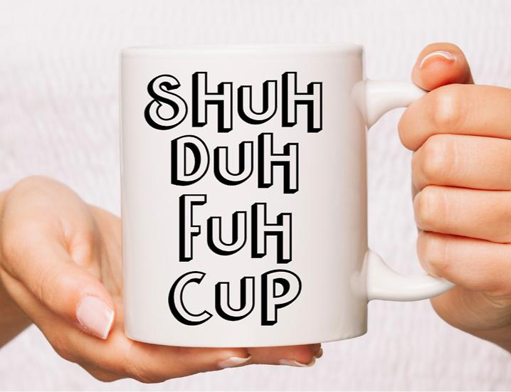 White Ceramic SDFC life Mug