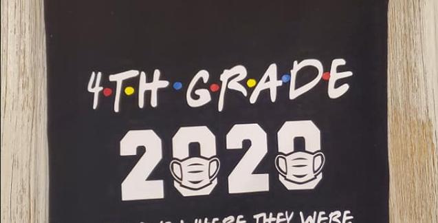 Grade Quarantined Youth Unisex Softstyle® 4.5 oz. T-Shirt