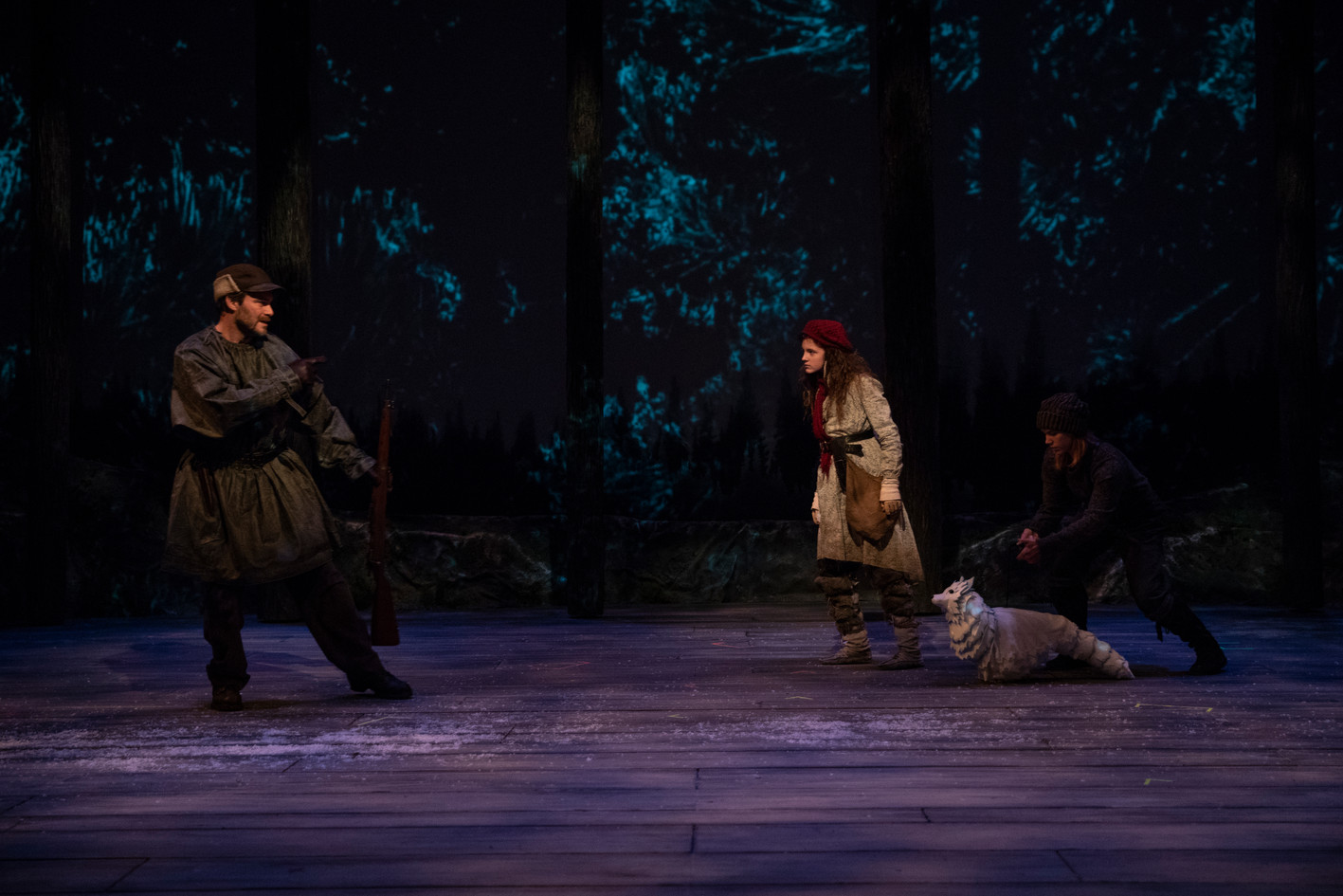 Arena Stage: with Matt Bogart and Fina Strazza; photo by Maria Baranova
