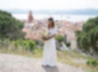 mariée à saint-tropez