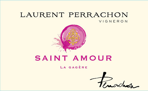"""BEAUJOLAIS - ROUGE / Domaine Perrachon Saint Amour """"La Gagère"""" 2016 AOC"""