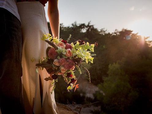 BOUQUET DE LA MARIÉE // Votre bouquet créatif et pétillant