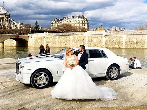 VÉHICULE DE PRESTIGE // Rolls Royce Phantom avec chauffeur privé et déco
