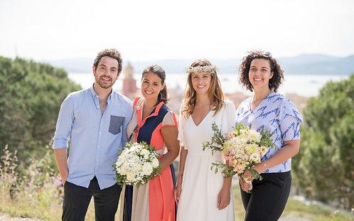 WEDDING PLANNER // Charme et douceur de Saint Tropez - EXCLUSIF