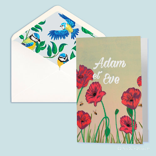PACK INVITATION // Collection Adam & Eve