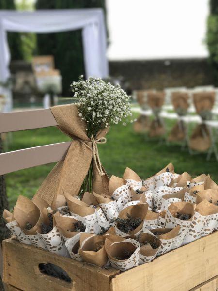 WEDDING DESIGNER // Installation de votre décoration