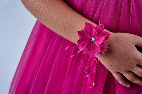 ACCESSOIRE CÉRÉMONIE // Bracelet-collier fleur