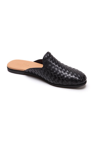 Taylor loafer-mule black